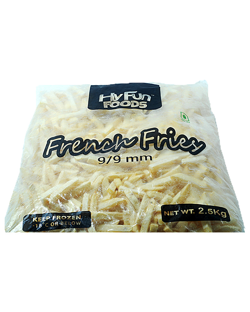 Frozen French Fries 2.5kg