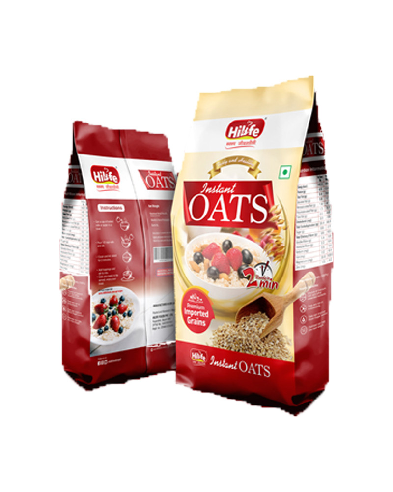 HILIFE INSTANT OATS 450GM POUCH