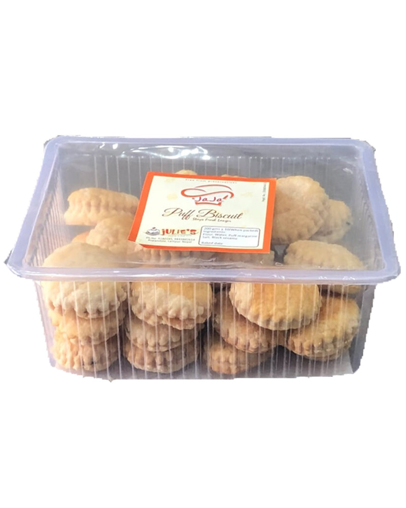 Puff biscuits 200 grms