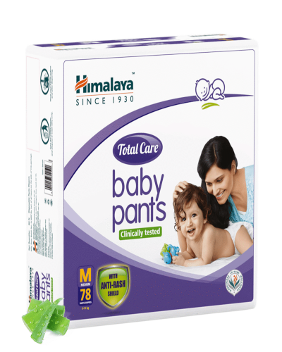 HIMALAYA TOTAL CARE BABY PANTS MED 78'S
