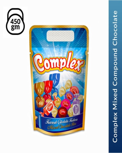 Complex Mixed Compound Chocolate, 450 gm