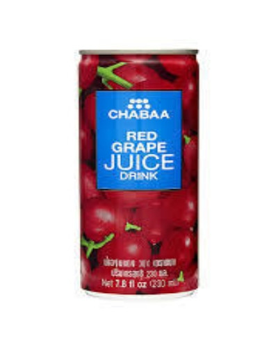 Chabaa Can Juice 230ml(Grapes)