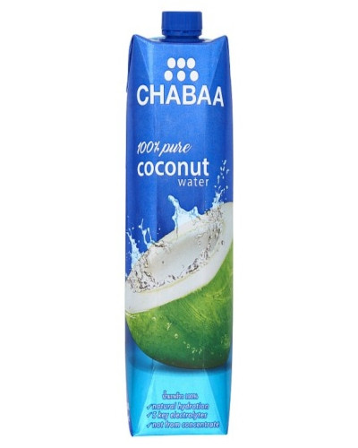 Chabaa Coco 100%  Pure Coconut Water 1LTR