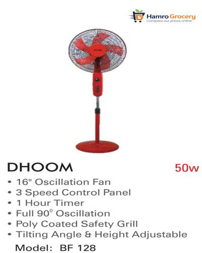 Baltra Dhoom Stand Fan (BF-128)
