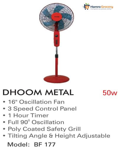 Baltra Dhoom Metal Stand Fan (BF-177)