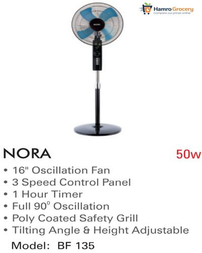 """Baltra Nora 18"""" Stand Fan (BF-135)"""