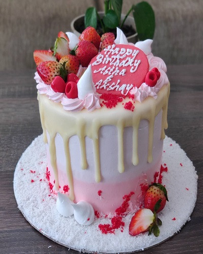 White Forest Cake 2 Pounds